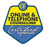 Online counselling badge